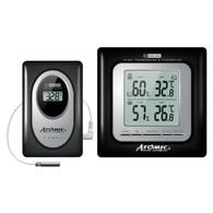 Термометр-гигрометр Atomic W239009-BLACK