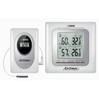 Термометр-гигрометр Atomic W239009-White