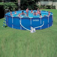 Бассейн каркас Intex Metal Frame Pool Intex 56952 , 549х122 см.
