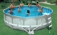 Каркасный бассейн Intex Ultra Frame Pool 54452, 488х122 см.