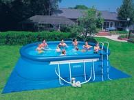 Сборный каркасный бассейн  OVAL FRAME POOL Intex 54432 (549х305х107 см.)