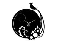 Дизайнерские настенные часы Павлин