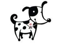 Дизайнерские настенные часы Собака