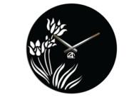 Дизайнерские настенные часы Тюльпаны
