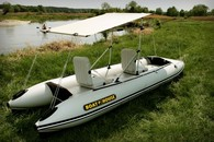 Лодка катамаранного типа BOATHOUSE Sport 3