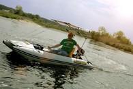 Лодка катамаранного типа BOATHOUSE Fisher 2
