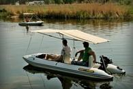 Лодка катамаранного типа BOATHOUSE Fisher 3