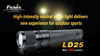 Фонарь Fenix LD25 Cree XP-G LED R4 (теплый свет)