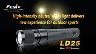 Фонарь Fenix LD25 Cree XP-G LED R4 (теплый свет)
