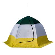 Палатка для рыбалки зимняя 3-местная с дышащим верхом ELITE Россия