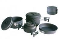 Набор туристической посуды Максимум на 3-4 персоны Кемпинг