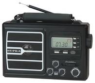 Портативный радиоприемник SUPRA ST-110 black
