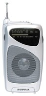 Портативный радиоприемник  SUPRA ST-114 silver