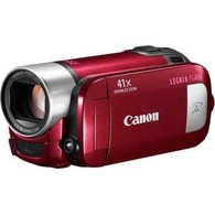Цифровая видеокамера Flash Canon Legria FS406 Red