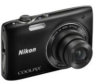 Цифровая фотокамера Nikon COOLPIX S3100 BLACK