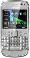 Мобильный телефон Nokia E6-00 Silver
